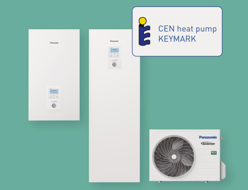 Las bombas de calor Aquarea de Panasonic reciben la certificación Keymark
